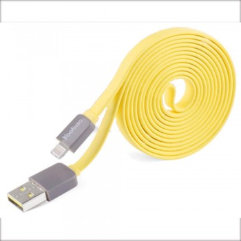 Yoobao Colourful Lightning 80cm Cable - Yellow (Item No: YB406-CBL-YEL) A4R2B84 - while stock last