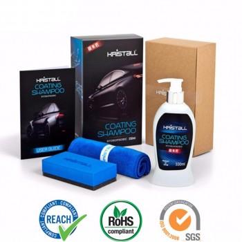Kristall Car Shampoo WITH Nano Coating - Car Paint Protection, Super Hydrophobic, Deep Gloss, 6.5 pH Balanced Neutral Shampoo