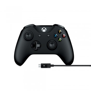 Microsoft 4N6-00003 Xbox Controller With Cable For Win PC