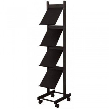 Newspaper & Magazine Rack LT333B - 290W x 390D x 1370H (item No: G05-79)