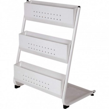 Newspaper & Magazine Rack MR209 - 690W x 500D x 1230H (Item No: G05-50)