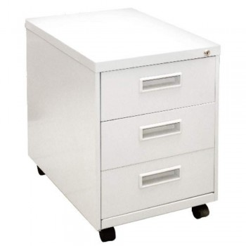 Mobile Pedestal LJEM-3B0F - 3-Drawer, Low