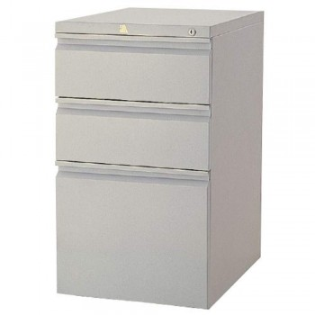 Mobile Pedestal MSP2B1F - Light Grey