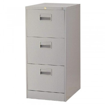 Steel Filing Cabinet LX43PS - 3-Drawer