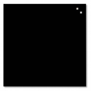 NAGA Magnetic Glass Board - Black (Item No: G14-03)