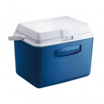 "Rubbermaid 24 Qt Cooler 2A13 - 22.8 Litre (12.4"" L x 17.4"" W x 13.3"" H) (Item No: H02-02)"