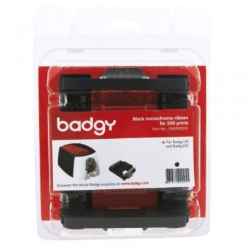 Badgy Black monochrome ribbon for 500 prints - Badgy100 & Badgy200