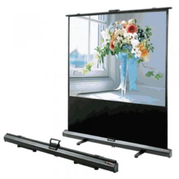 "Grandview 100"" X-press Portable Pull-up Screen: Aluminum Casing & Bracket System - CB-UX100WM (4:3)"