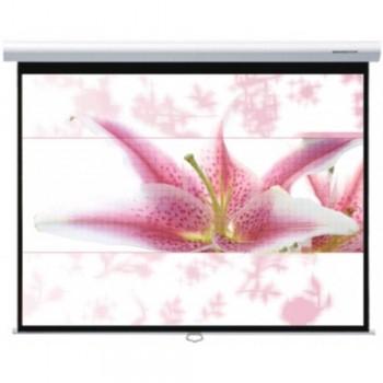 "Grandview 70"" x 70"" CNV MANUAL Screen: Self lock & Slow-retract System - (Item No: GVCNP70X70WM)"