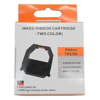 TIME RECORDER RIBBON W202A - Two Color Ink Ribbon Cartridge