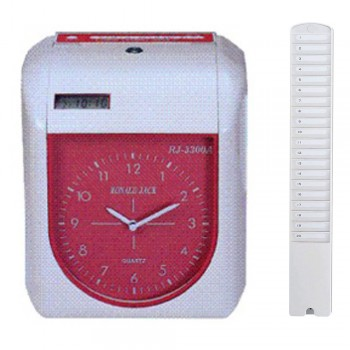 Ronald Jack RJ3300A Time Recorder (Free) 20's Card Rack Time Card