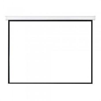"SAMPRO 70"" x 70"" Motorized Screen Matte White Fabric Thickness (Item No: G18-11)"