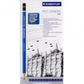 Staedtler Mars Lumograph Pencil 100-S C12