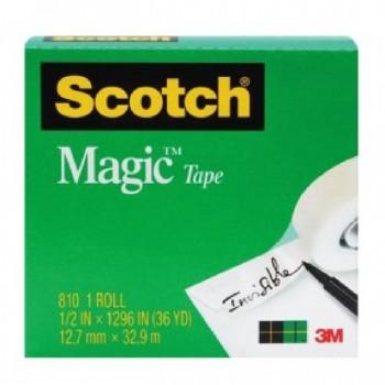 "3M 810 MagicTape 1/2"" x 36YDS"