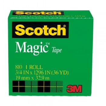 "3M 810 MagicTape 3/4"" x36YDS"