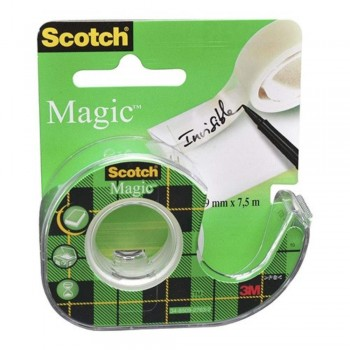 3M Scotch® Magic™ Tape Dispenser Roll -19mm x 4m