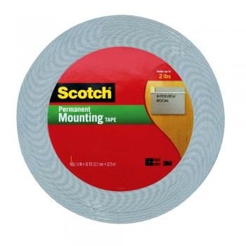 3M Scotch Permanent Mounting Tape 18mm x 36 Yards
