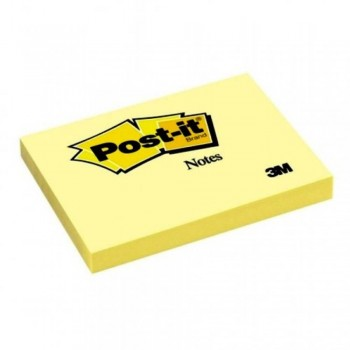 3M Post-it® Notes 657 — 3in x 4in, 100 sheets - Canary Yellow