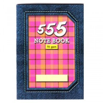 555 CAPTAIN NOTE BOOK THICK BLUE