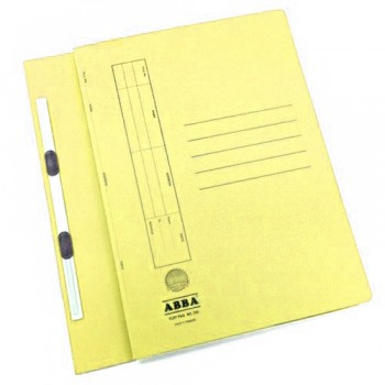 ABBA TRANSFER FILE 102(ST) 2 CLIPS YELLOW