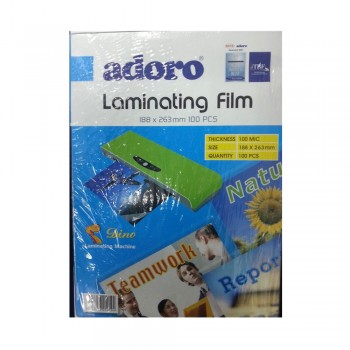 188x263mm LAMINATING FILM (100 PCS)