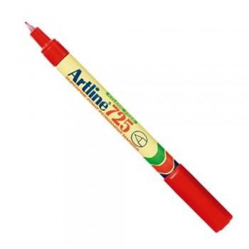 Artline EK-725 Marker Pen - Red