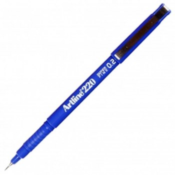 Artline 220 Writing Pen 0.2mm Blue