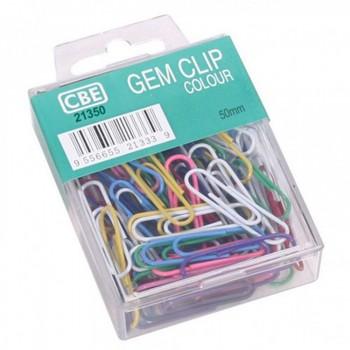 CBE GEM CLIP Paper Clip & Pin-50MM-30PCS ( ITEM NO : B03 25 )