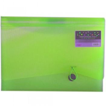 CBE 4313 13P Expanding File (A4) Green (Item No: B10-123 G)