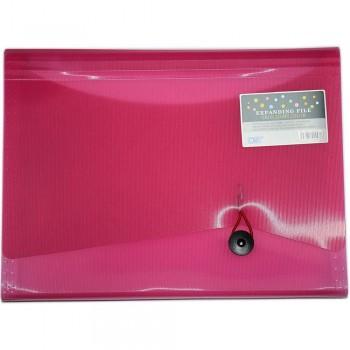 CBE 4313 13P Expanding File (A4) Pink (Item No: B10-123 PK)