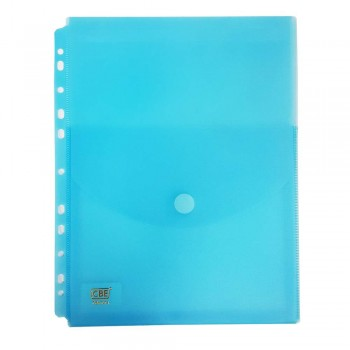 CBE 101A Document Holder W/11Holes (A4)-Blue