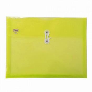 CBE 103A PP Document Holder (A4) Yellow