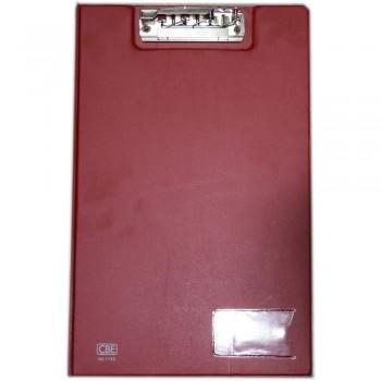 CBE 1100 PVC Clip File (F4) RED