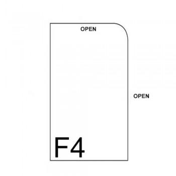 CBE 1466F L-Shape PVC Document Holder (F4)