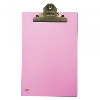 CBE 1496 PVC Jumbo-Clip Board (FC) PINK