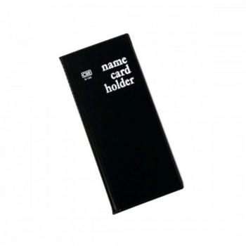 CBE N160 PVC Name Card Holder - Black (Item No: B01-16BK) A1R2B16