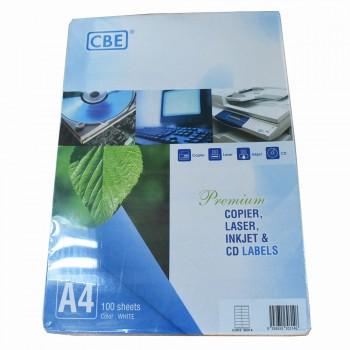 CBE Inkjet Label 30314- (38mm X 105mm)