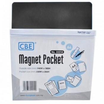 CBE Magnet Pocket 22214 A4 - Black (Item No: B10-185B) A1R3B130