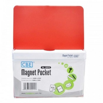 CBE Magnet Pocket 22215 A5 - Red (Item No: B10-186R) A1R3B131