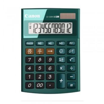 Canon LS-120Hi-III-GR 12 Digits Desktop Calculator (Green)