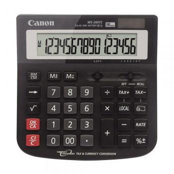 Canon WS-260TC 16 Digits Desktop Calculator