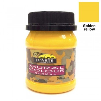 D'Arte Mural Colour - Normal - Small - Yellow (Item No: B05-59 Y) A1R2B187