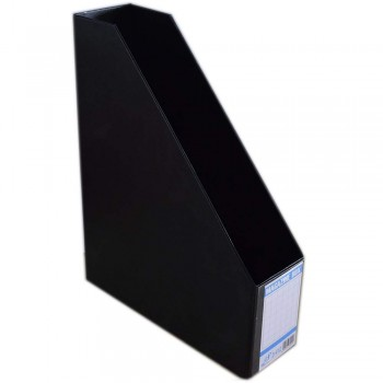 "EAST FILE PVC MAGAZINE BOX 412 3"" Black (Item No: B11-94 BK)"