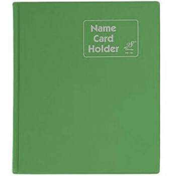 East File NH320 PVC Name Card Holder-Green (Item No: B01-47)  A1R2B18