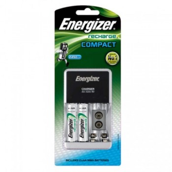 Energizer Compact Charger Recharges (Item No: B06-10) A1R2B223