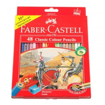 Faber Castell Classic Colouring Pencil-48L (Item No: B05-03) A1R2B191