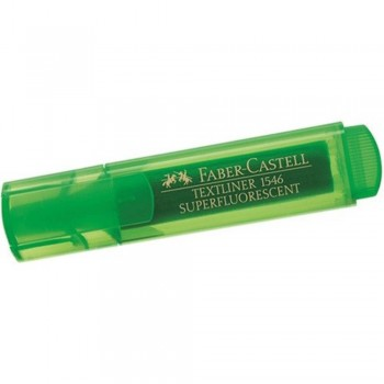 Faber Castell TEXTLINER 1546 Highlighter - GREEN (Item No: A13-01 ) A1R3B54