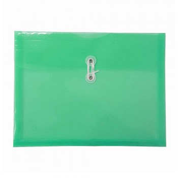 A4 Top Open Document Holder Green