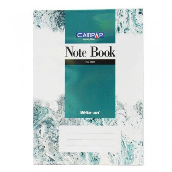 Campap Cw2307 A4 Pvc Cover Note Book 240P (Item No: C02-07) A1R4B121