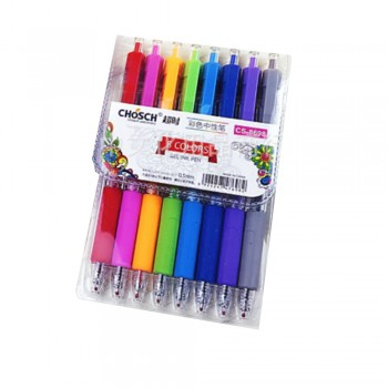 Chosch 8 Colors Gel Pen (CS-8698)
